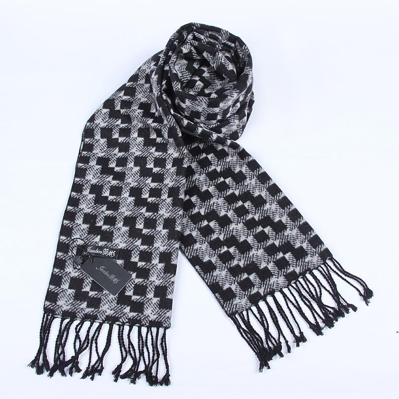 你知道方格毛线围巾的织法吗?