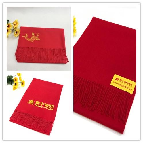 一条红色围巾让您更有纪念意义!【越缇美】