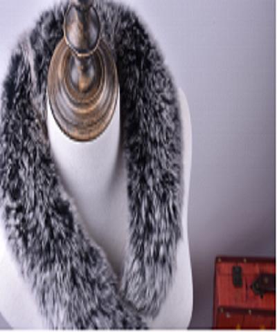 女士狐狸毛围巾