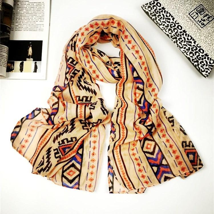 新款比西米亚巴厘纱围巾