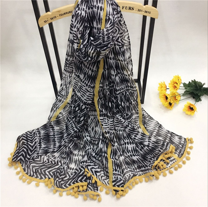 新款巴厘纱围巾