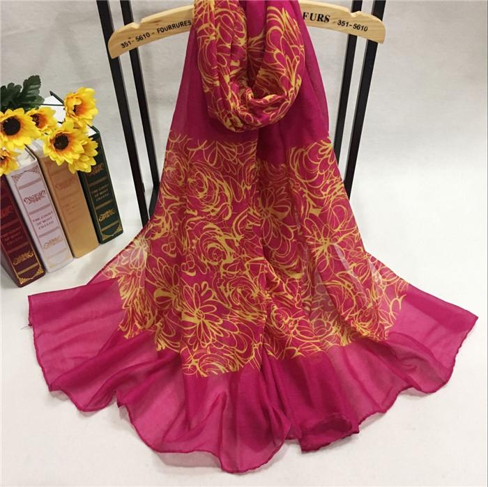 YB77009-2 巴厘纱围巾定制厂家