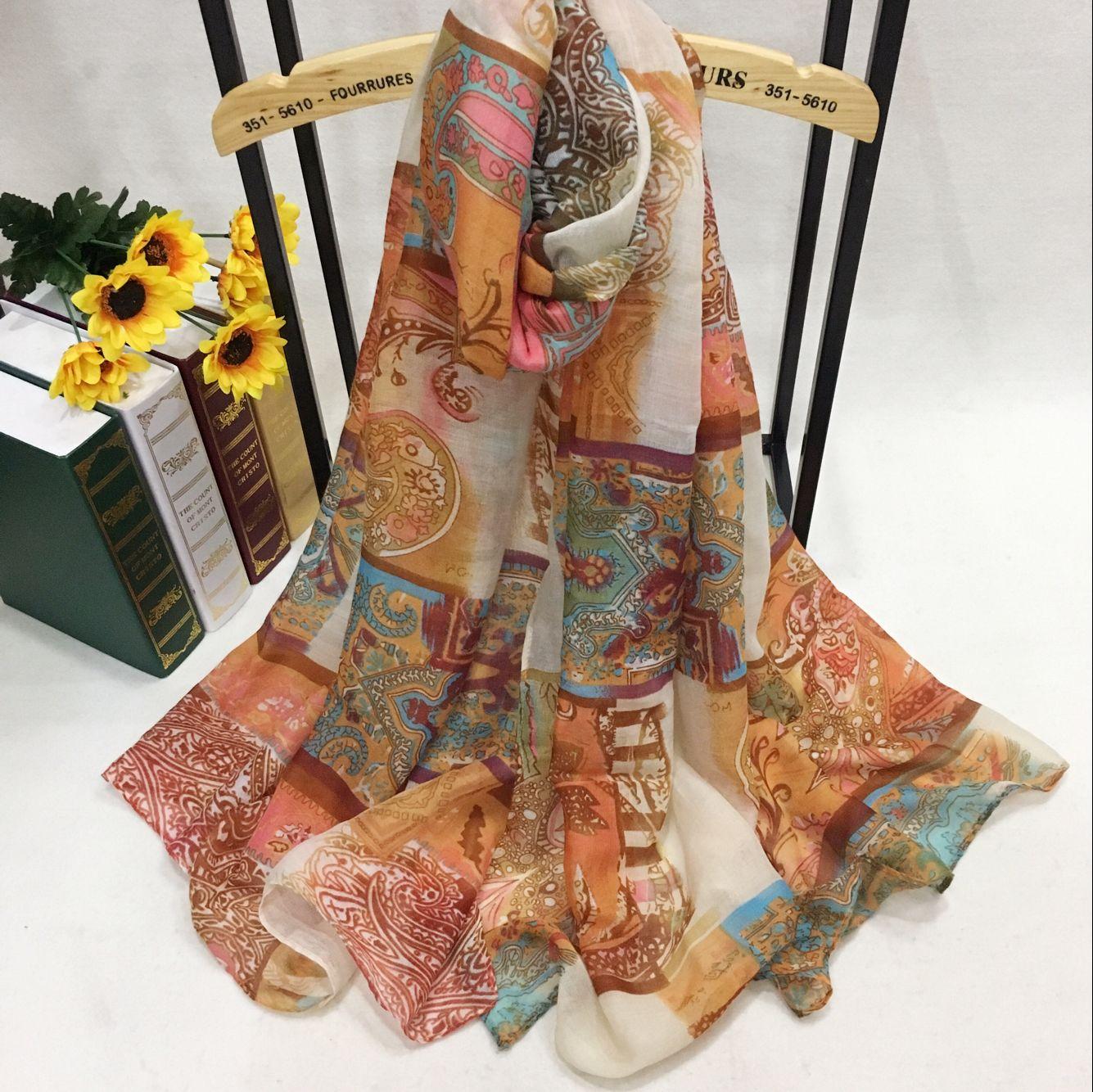 PB75139 巴厘纱围巾定制厂家