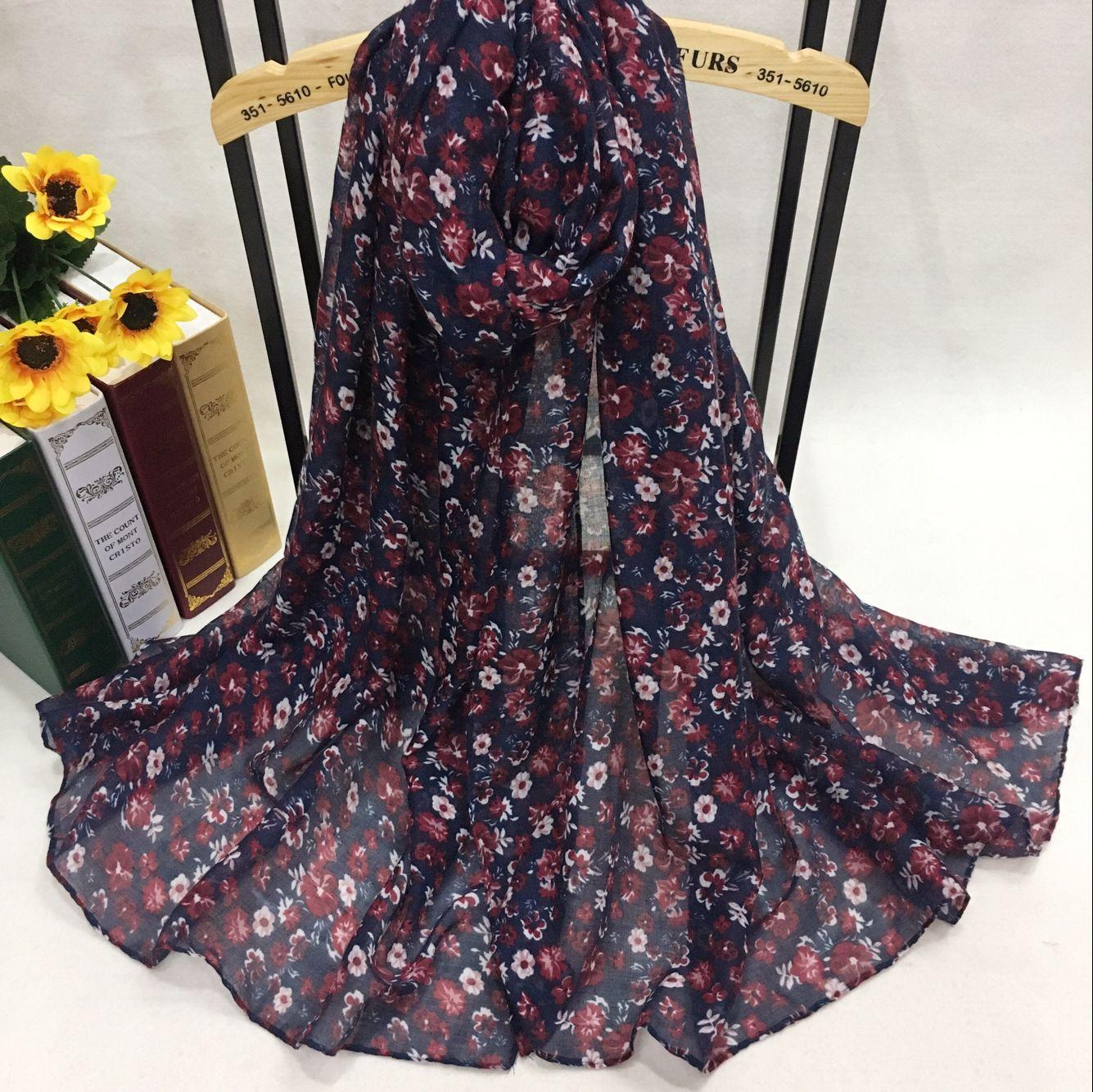 PB75022 巴厘纱围巾定制厂家