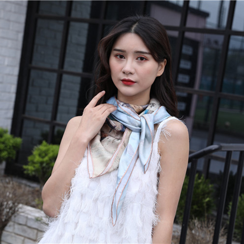 YZ真丝围巾定制厂家