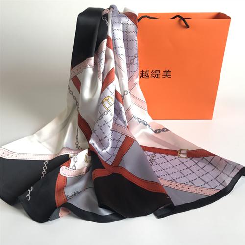 LP03真丝围巾定制