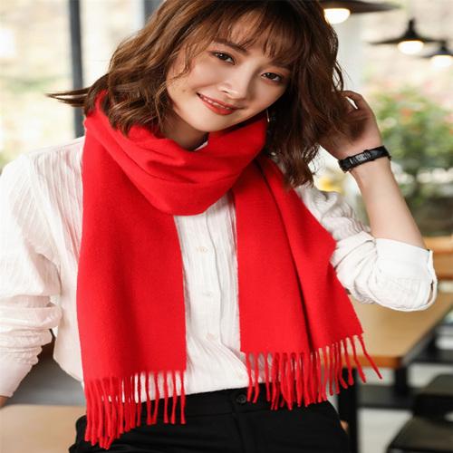 羊绒围巾定制